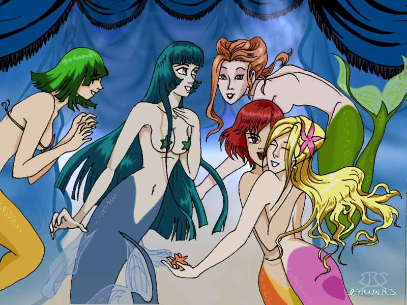 desnuda sirenita ariel de la